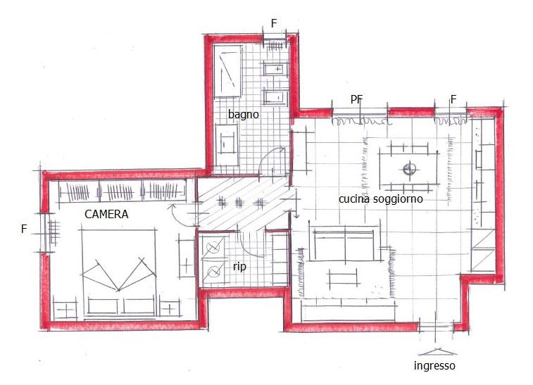Appartamento zaffiro for Arredamento appartamento completo